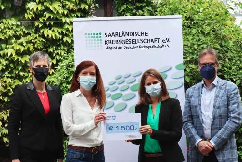Spende an Saarländischen Krebsgesellschaft e.V.